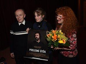 Film Poslední útěk vkolínské světové premiéře uvedli jeho tvůrci