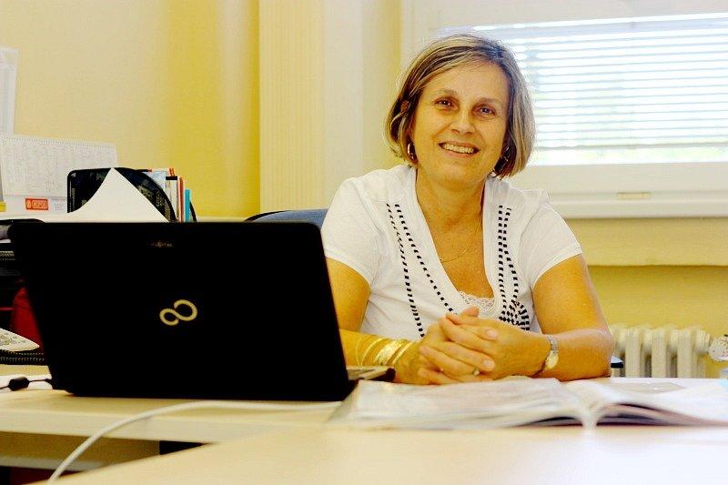 Vedoucí marketingu Marie Horská