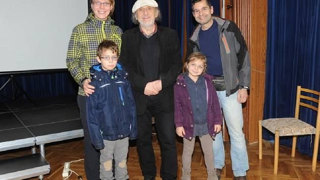 Prvním hudebníkem, který letos vystoupil ve společenském domě byl Jiří Stivín