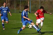 Z utkání FK Kolín - Velim (1:0).