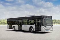 Takovéto autobusy budou zajišťovat Městskou hromadnou dopravu v Kolíně.