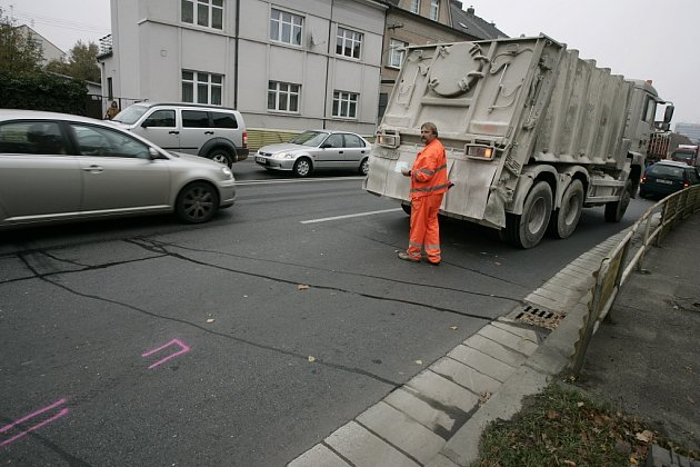 Úterní nehoda v Jaselské ulici