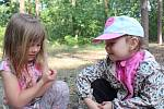 Díky Školce v lese strávily děti téměř celý týden v přírodě.