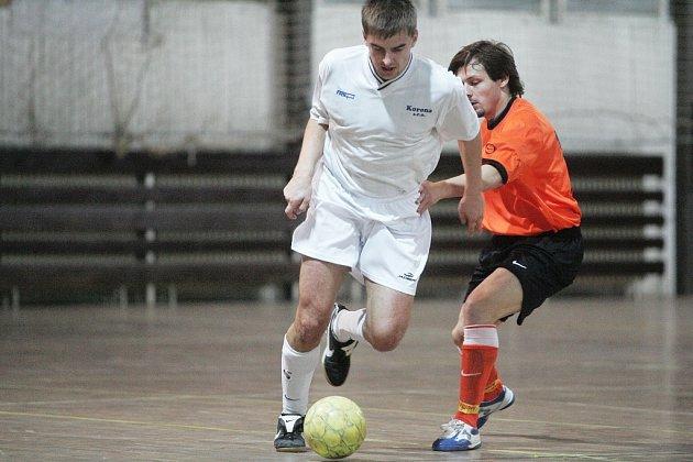 Z futsalového utkání SKP Kolín - Ebentárna Kladno