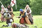 Na jízdárně tentokrát hořela Johanka z Arku, na bojovou vřavu ale také došlo.