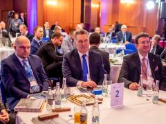 Z konference v rámci projektu Železniční doprava pro kraje, který byl pořádán v TOP Hotelu Praha.