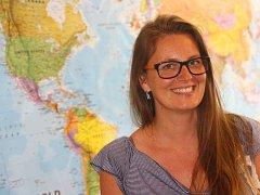 Cestovatelka a prodejkyně zájezdů Kateřina Peukerová