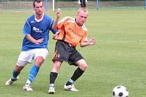 Z přípravného utkání FK Kolín - Benešov (3:0).