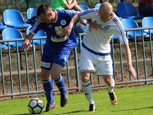 Z utkání divize FK Kolín - Trutnov (0:0, PK 5:3).