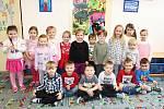 Děti v Mateřské škole Klubíčko v Kolíně.