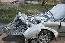 K nehodě dvou osobních aut došlo na kruhovém objezdu u automobilky TPCA u Ovčár.