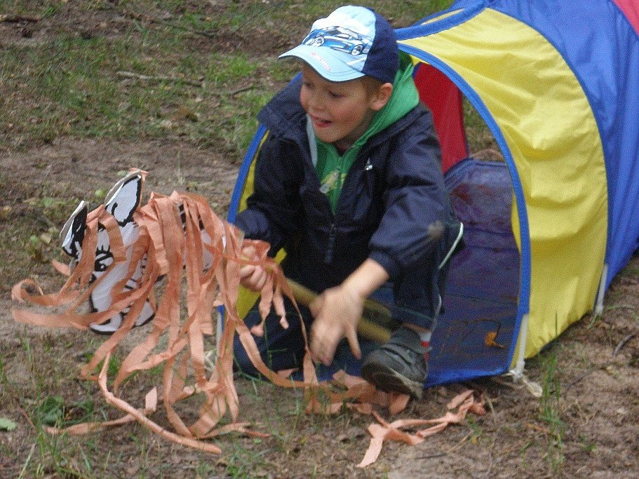 Psí útulek a Dům dětí a mládežepořádal Pohádkový les