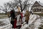 Na první adventní neděli byl v kouřimském skanzenu připraven jeden znárodopisných pořadů snázvem Svatomikulášská obchůzka.