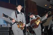 The Beatles v kolínském Městském společenském domě.