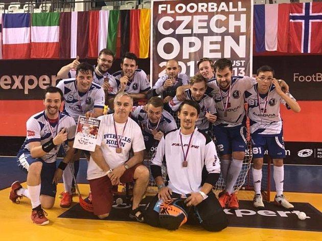 Kolínští muži obsadili na největším turnaji světa v kategorii Open třetí místo.