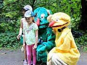 Děti si užily pohádkovou zábavu.