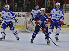 Hokejisté Kolína druhé utkání osmifinálové série proti Vrchlabí prohráli doma 2:4.