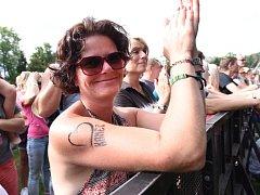 Festival Rock for People se na den vrátil Na Kutilku