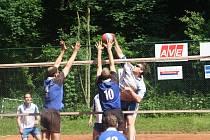Z utkání VK Kolín - Kutná Hora (1:3).
