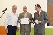 Slavnostní předávání certifikátů Stavby roku
