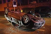 nehoda u nemocnice