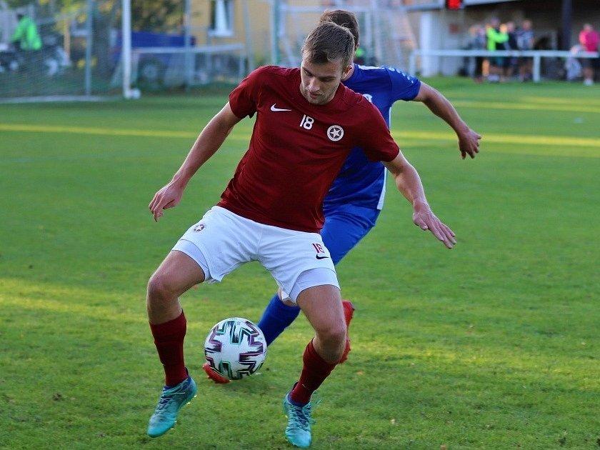 Z utkání Český Brod B - Poděbrady (1:0).