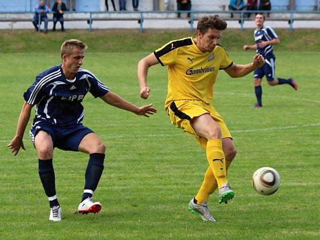 Z utkání Kouřim - Červené Pečky (6:0).