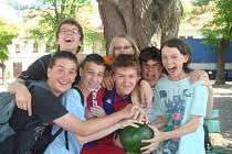 Třída českobrodského gymnázia