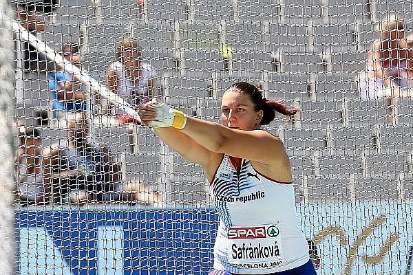 Kateřina Šafránková na ME v Barceloně.