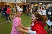 Děti si vedle vyhlašování cen užily i pořádnou taneční zábavu.