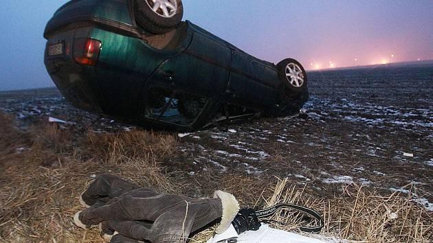Nehoda u Ovčár. 31. ledna 2011