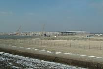 Průmyslová zóna Kolín - Ovčáry v době svých začátků