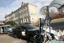 Nehoda v Ovčárecké ulici