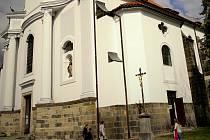 Kostel sv. Gotharda v Českém Brodě.