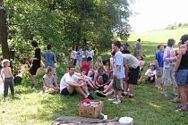 Zástupci města Český Brod navštívili dětské tábory.