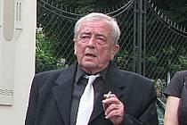 Ivan Adamec na jedné z nedávných akcí organizovaných Spolkovou radou Kolína