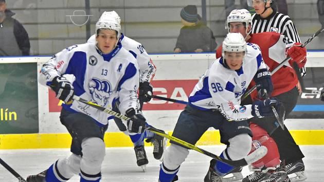 Hokejisté Kolína domácí utkání proti Klatovům výsledkově nezvládli. Prohráli 2:3 po samostatných nájezdech.