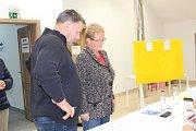 Volby do poslanecké sněmovny v Cerhenicích na Kolínsku