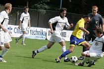 Z přípravného utkání FK Kolín - Chrudim (2:0).