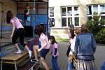 Ve škole v Kostelci nad Černými  lesy se s prvními skutečně jarními dny přihlásily i velikonoce