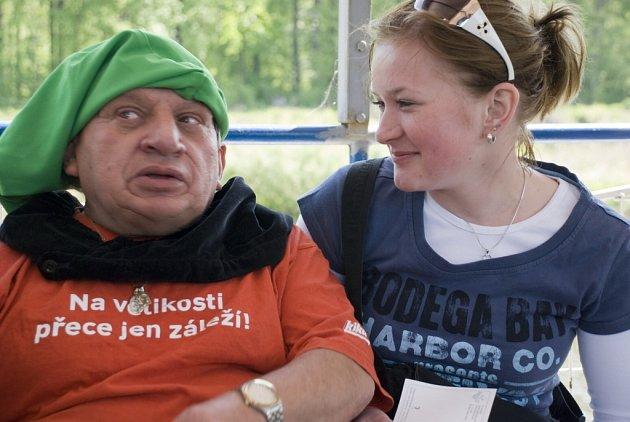 S Jiřím Krytinářem po vlnách Labe