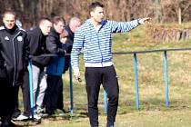 Trenér kolínských fotbalistů Jaroslav Havrda.