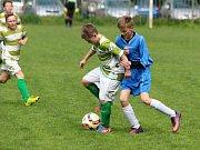 Z utkání OP starších žáků Zásmuky - Tuchoraz (5:2).
