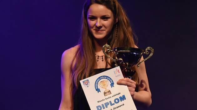 Helena Jiranová je nejúspěšnější sportovkyní za rok 2015.