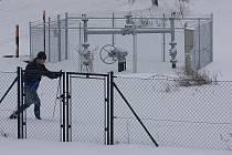 Neznámý sportovec využil sněhu v nížině