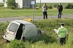 Těžká autonehoda u Jestřabí Lhoty