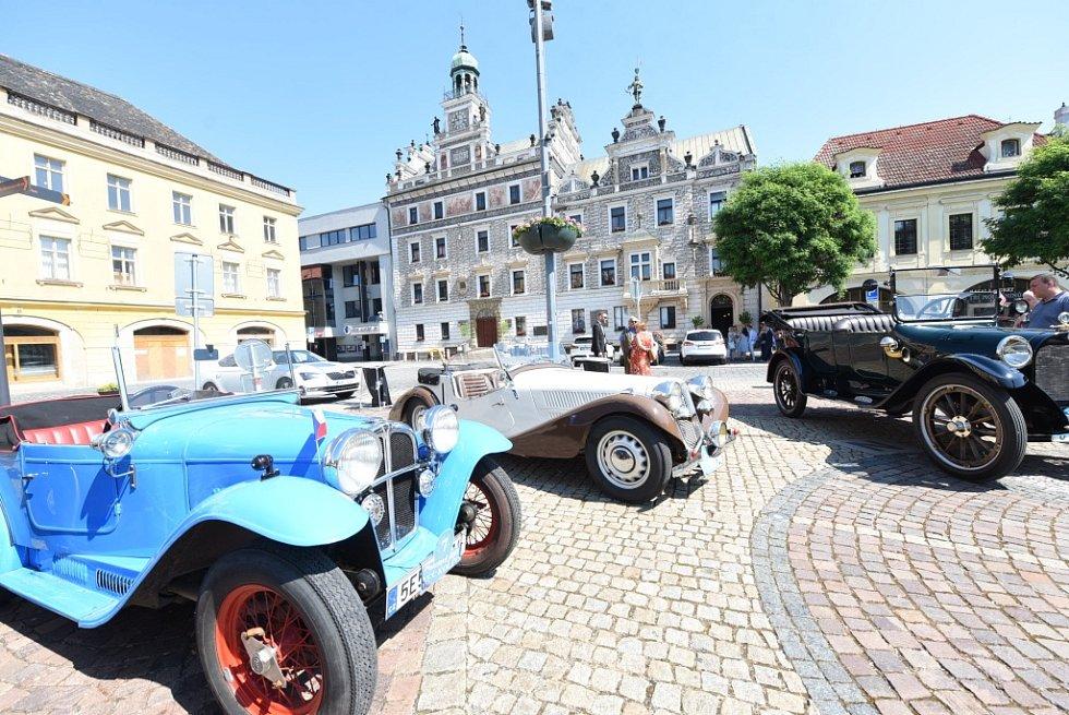 Nejkrásnějším automobilem Plaketové jízdy se stal Dodge Brothers z roku 1918.