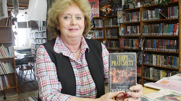 Vedoucí dětského oddělení kolínské knihovny Eva Pluháčková