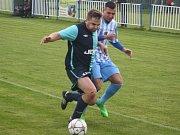 Z utkání Býchory - Jevany (3:1).