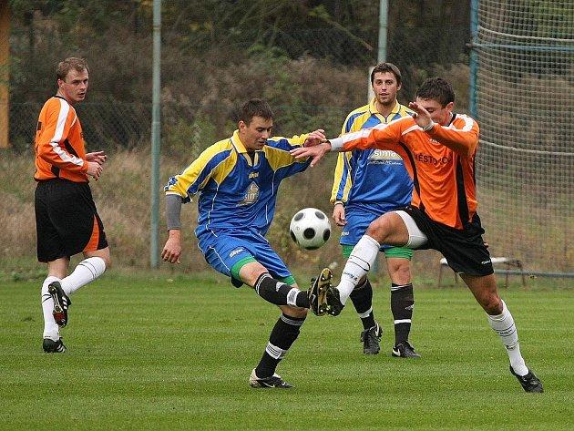 Z utkání FK Kolín - Milín (4:0).